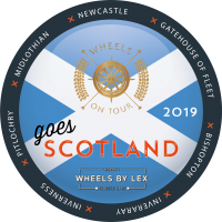 Logo schotland 2019 wheels on tour